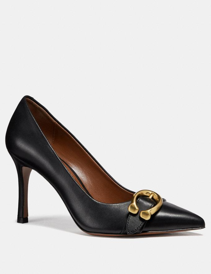 Coach Varick Pump Black SALE For Her Shoes