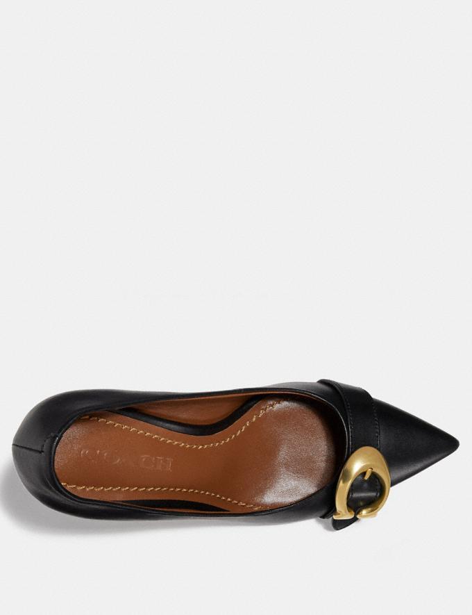 Coach Varick Pump Black SALE For Her Shoes Alternate View 2