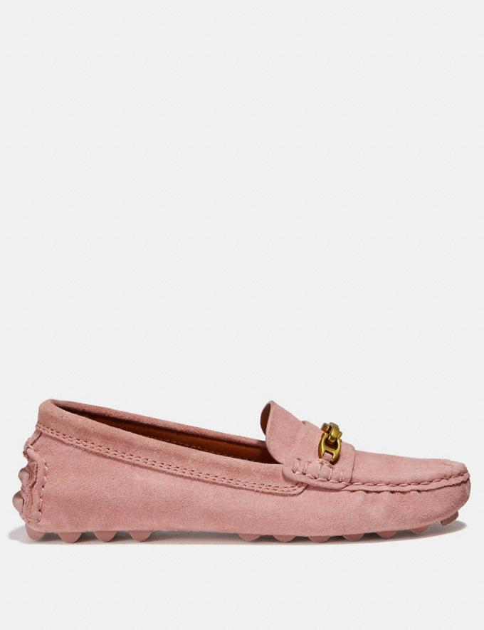 Coach Crosby Driver Peony Women Shoes Flats Alternate View 1