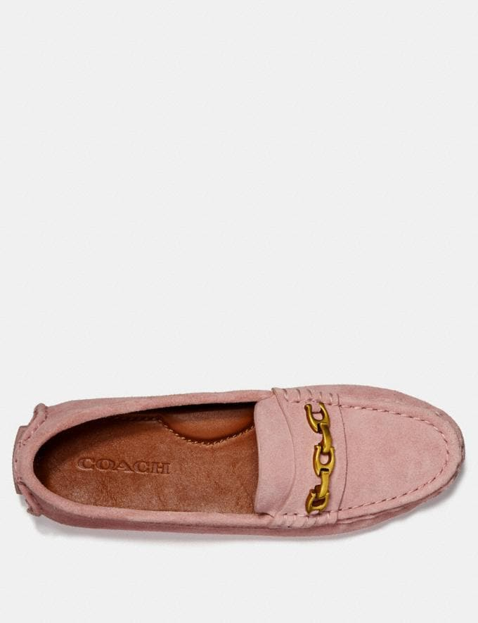 Coach Crosby Driver Peony Women Shoes Flats Alternate View 2
