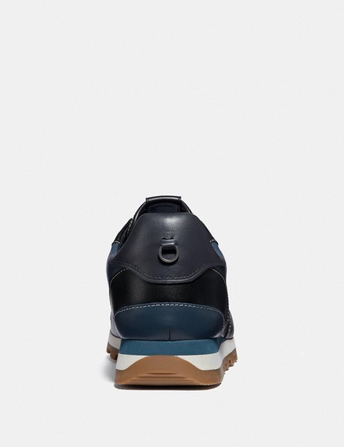 Coach C118 Runner Denim/Black Men Shoes Sneakers Alternate View 3