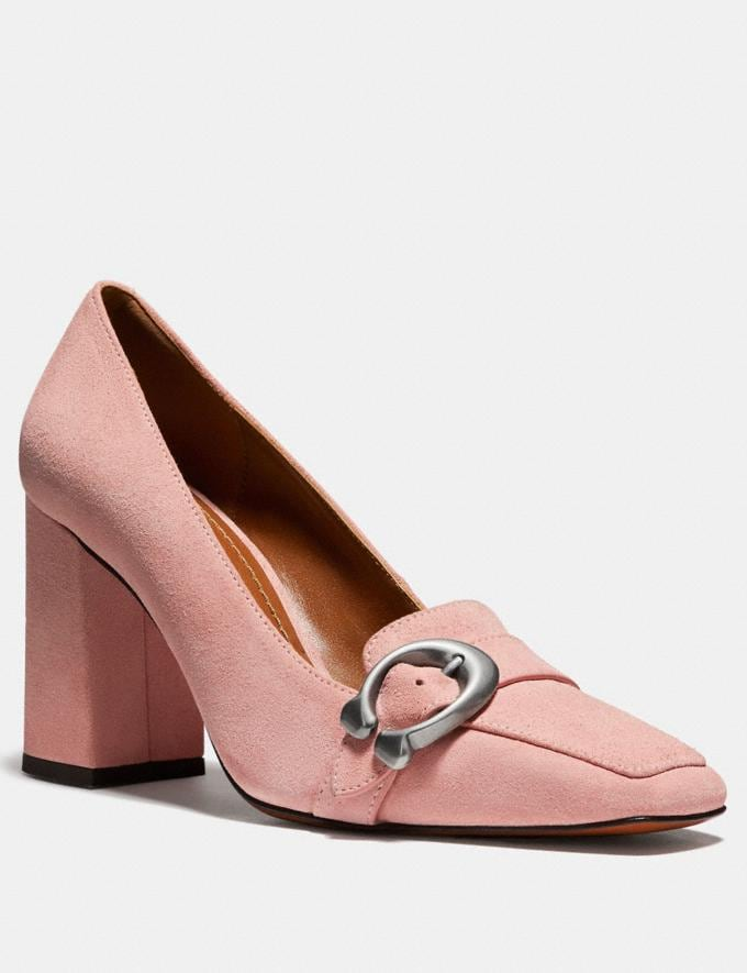 Coach Jade Loafer Peony Women Shoes Flats