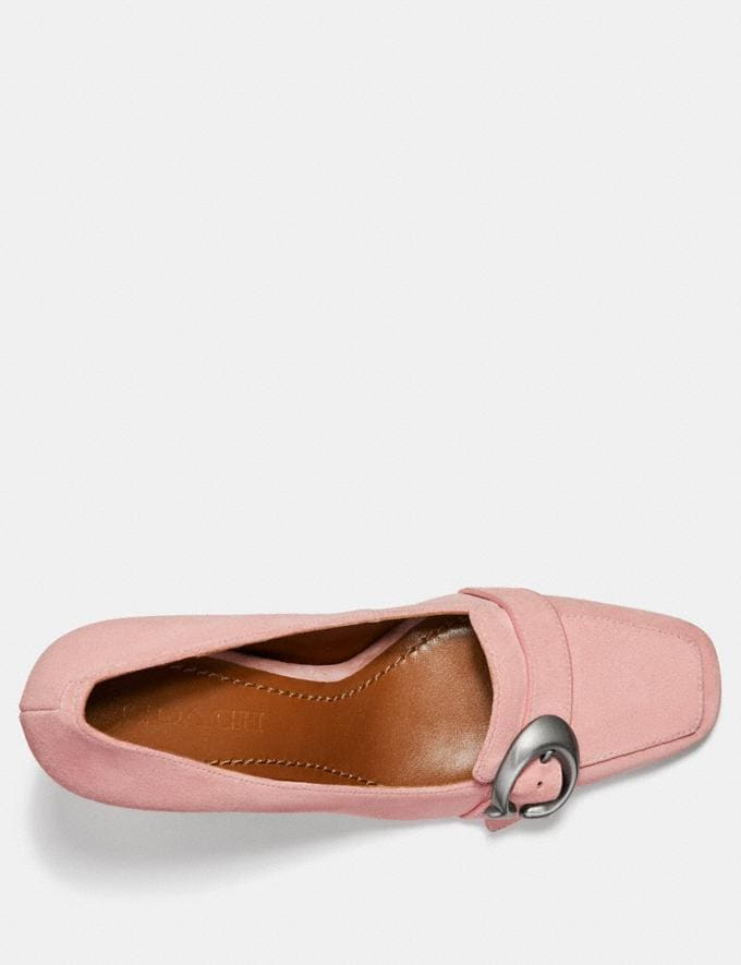 Coach Jade Loafer Peony Women Shoes Flats Alternate View 2