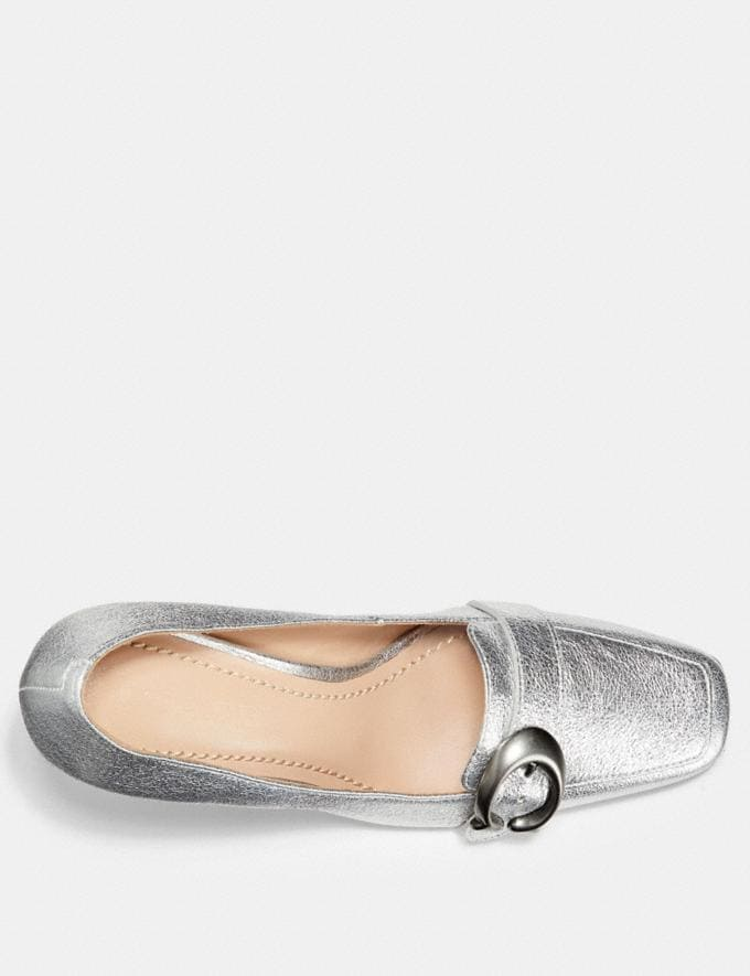 Coach Jade Loafer Silver  Alternate View 2