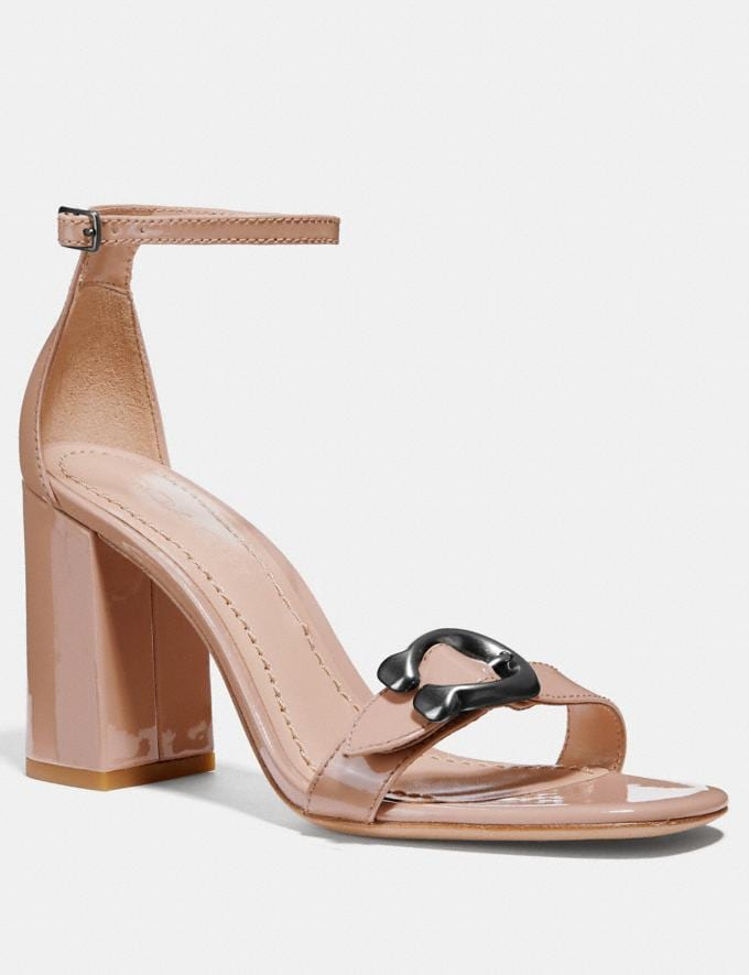 Coach Maya Sandal Pale Blush CYBER MONDAY SALE Women's Sale 40 Percent Off