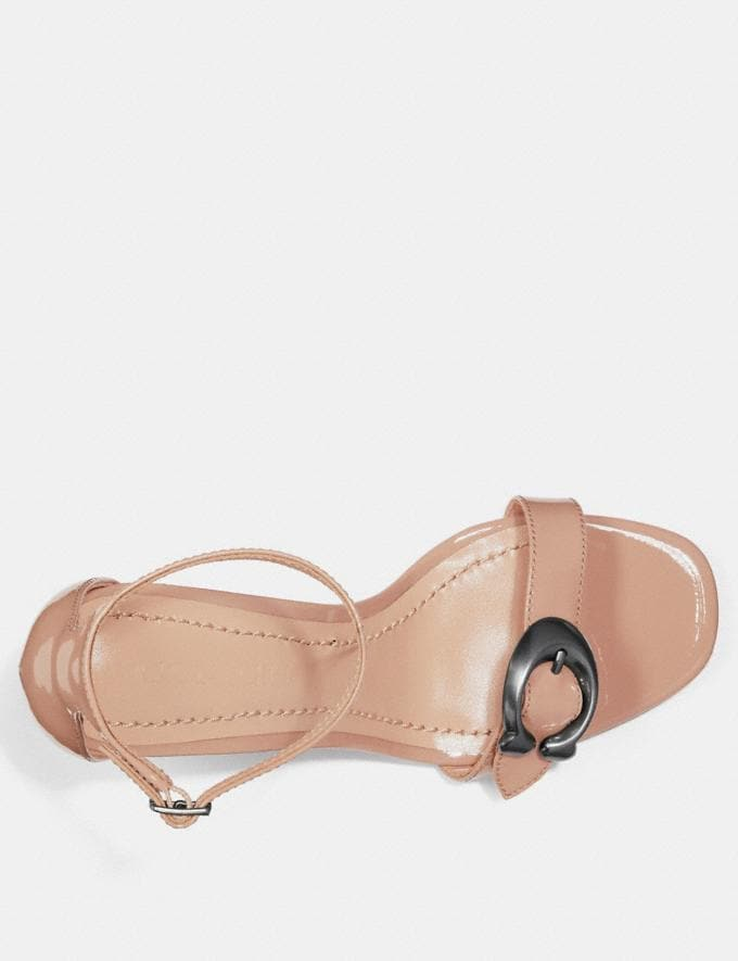 Coach Maya Sandal Pale Blush CYBER MONDAY SALE Women's Sale 40 Percent Off Alternate View 2