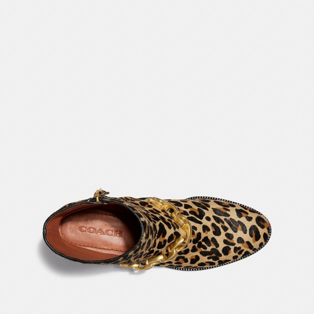 Coach Allen Bootie With Leopard Print Alternate View 2