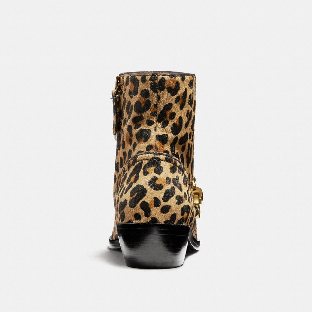 Coach Allen Bootie With Leopard Print Alternate View 3