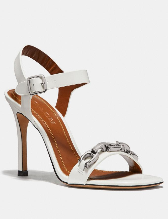 Coach Bonnie Sandal Off White