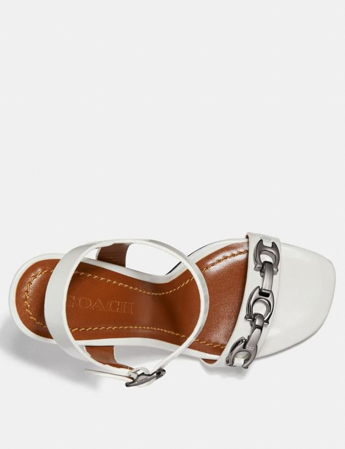 Coach Bonnie Sandal Off White  Alternate View 2