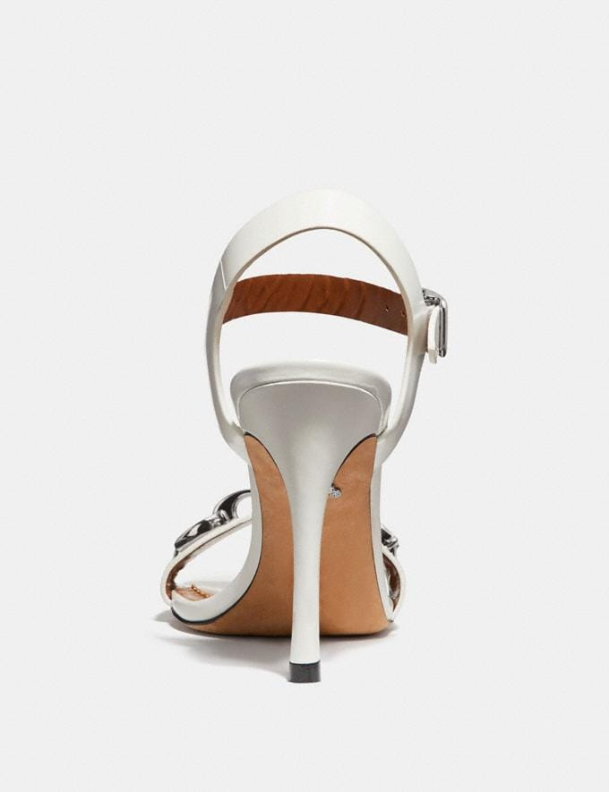 Coach Bonnie Sandal Off White  Alternate View 3