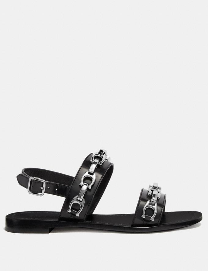 Coach Eden Sandal Black  Alternate View 1