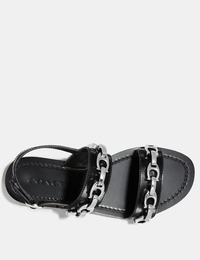 Coach Eden Sandal Black  Alternate View 2