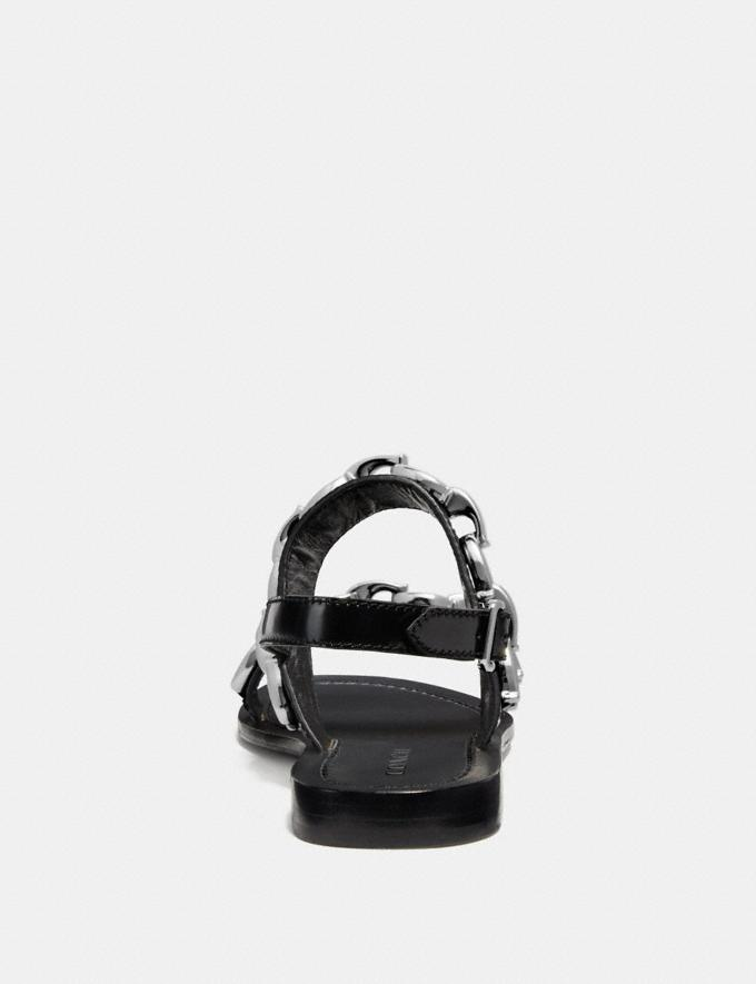 Coach Eden Sandal Black  Alternate View 3