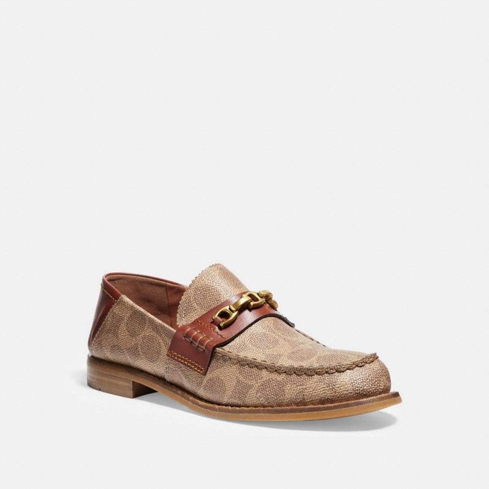 Putnam Loafer In Signature Canvas by Coach
