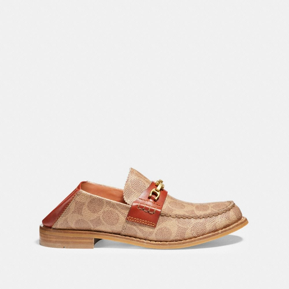 Coach Putnam Loafer in Signature Canvas Alternate View 2