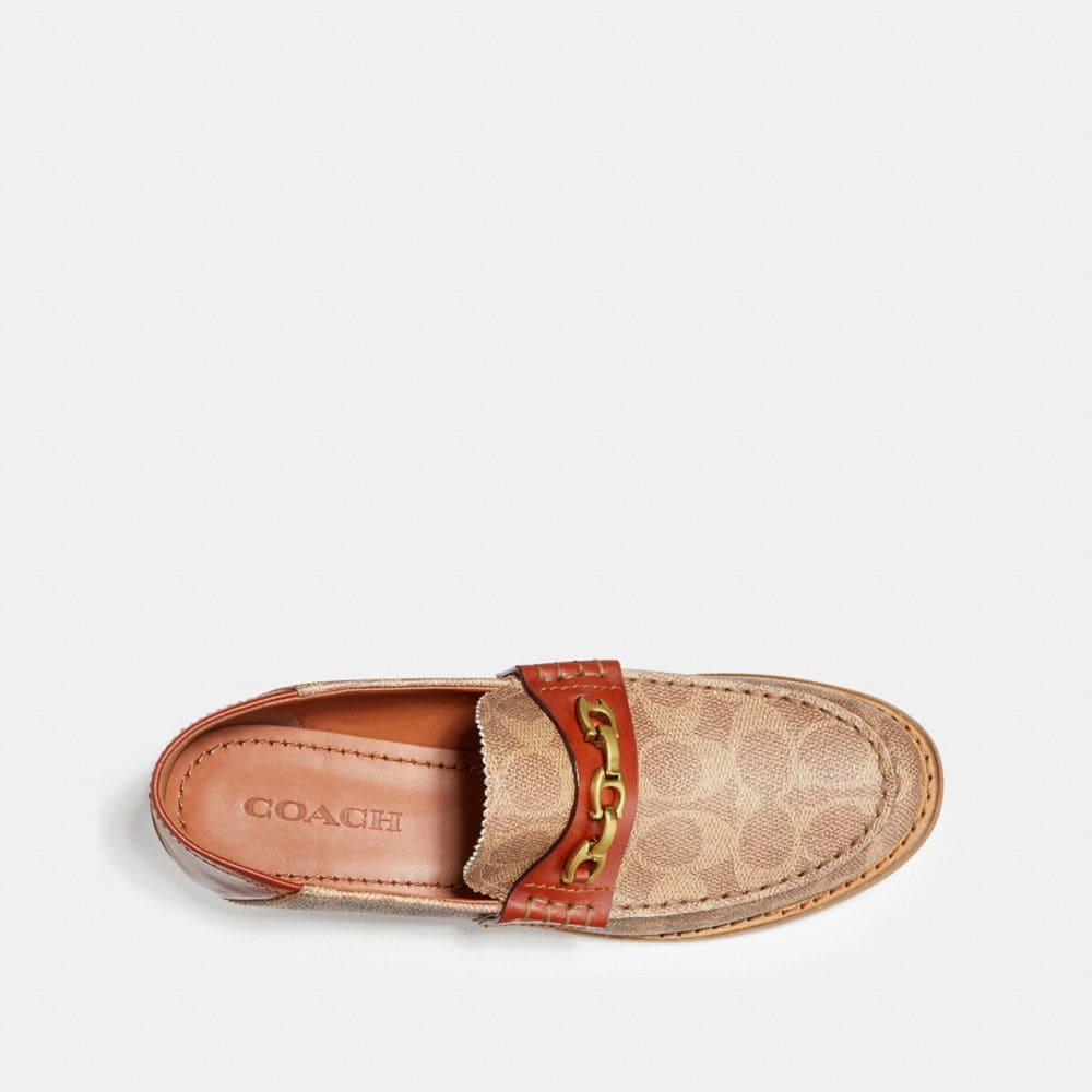 Coach Putnam Loafer in Signature Canvas Alternate View 3