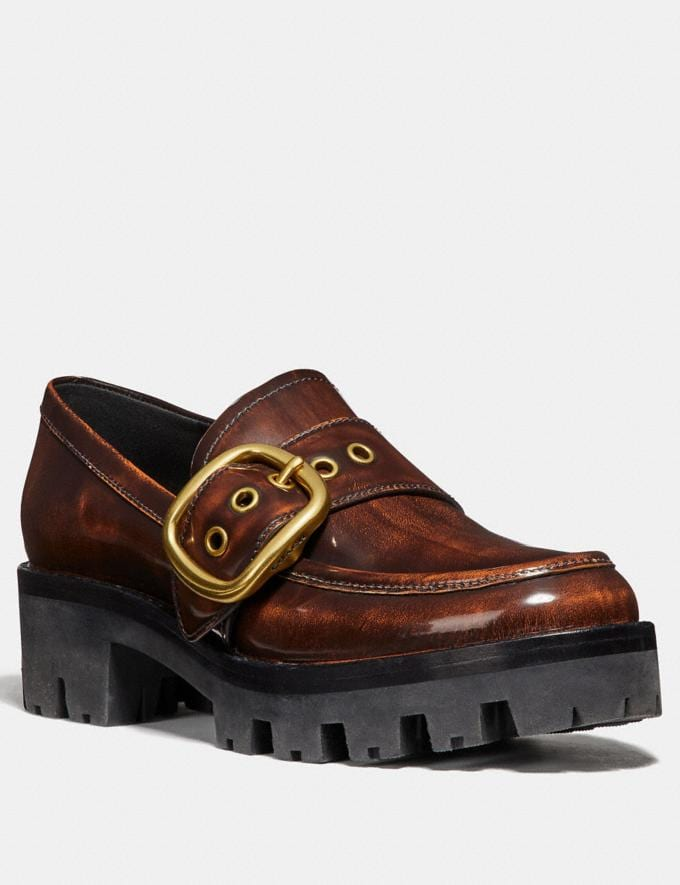 Coach Grand Loafer Lion