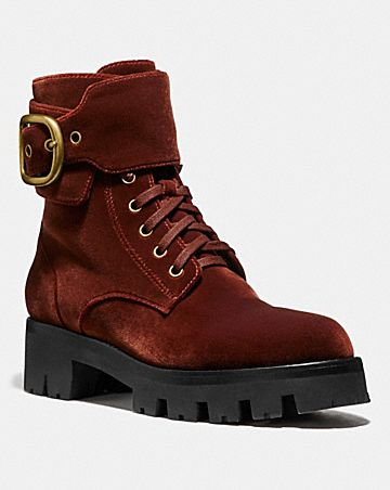 LUCY LACE UP BOOTIE