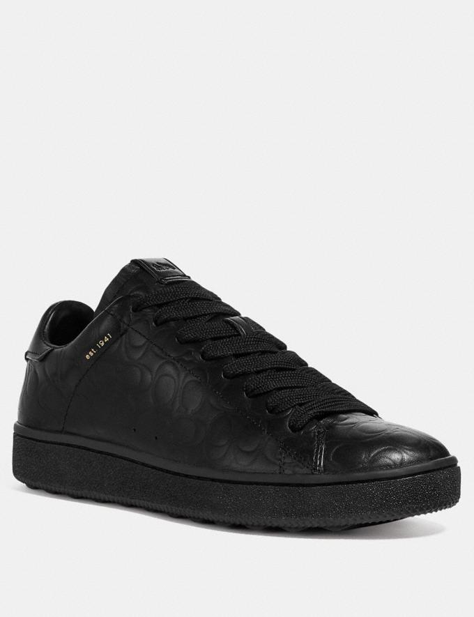 Coach C101 Low Top Sneaker Black