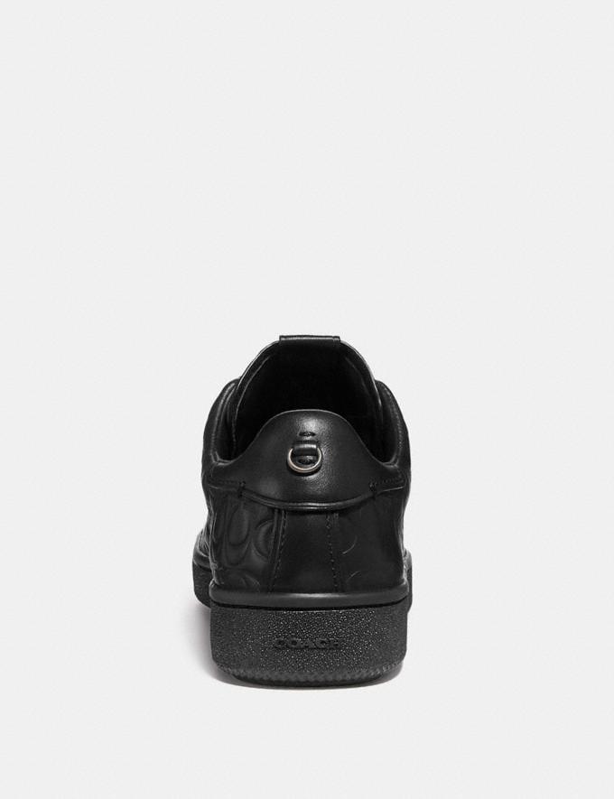Coach C101 Low Top Sneaker Black  Alternate View 3