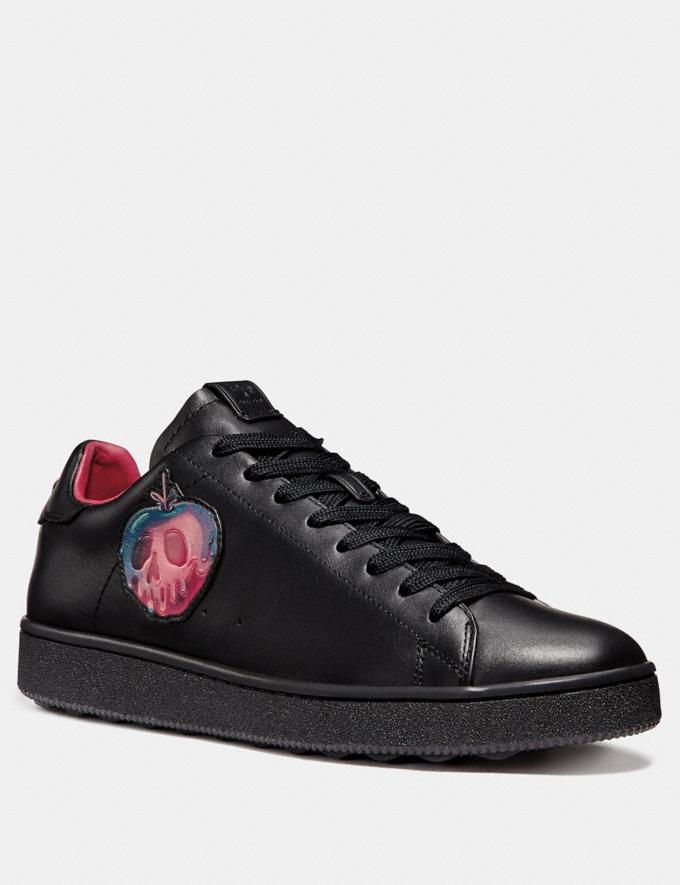 Coach Disney X Coach C101 With Poison Apple Graphic Black Men Shoes Trainers