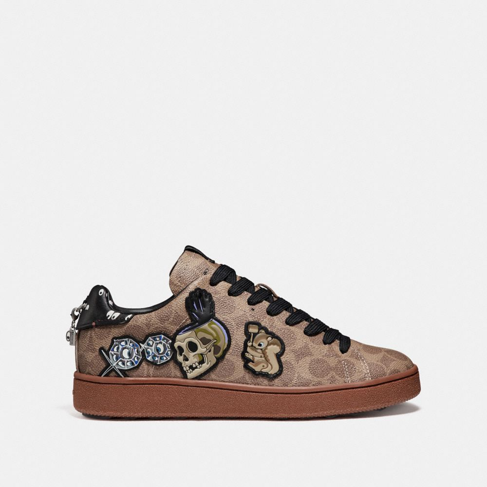 Coach Disney X Coach C101 With Patches Alternate View 1