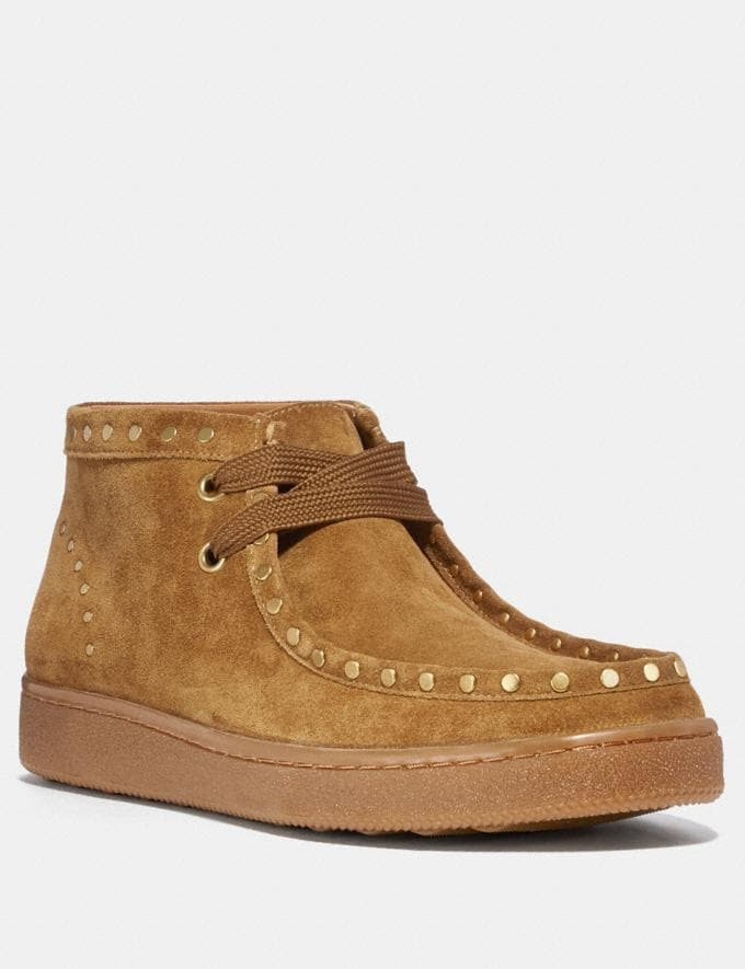 Coach Wallabee Camel