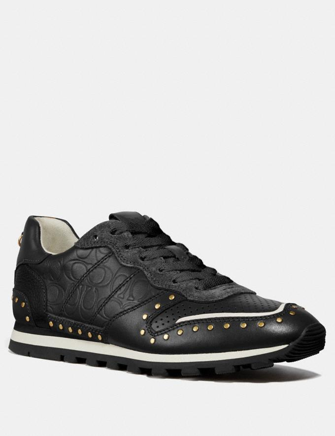 Coach C118 With Rivets Black