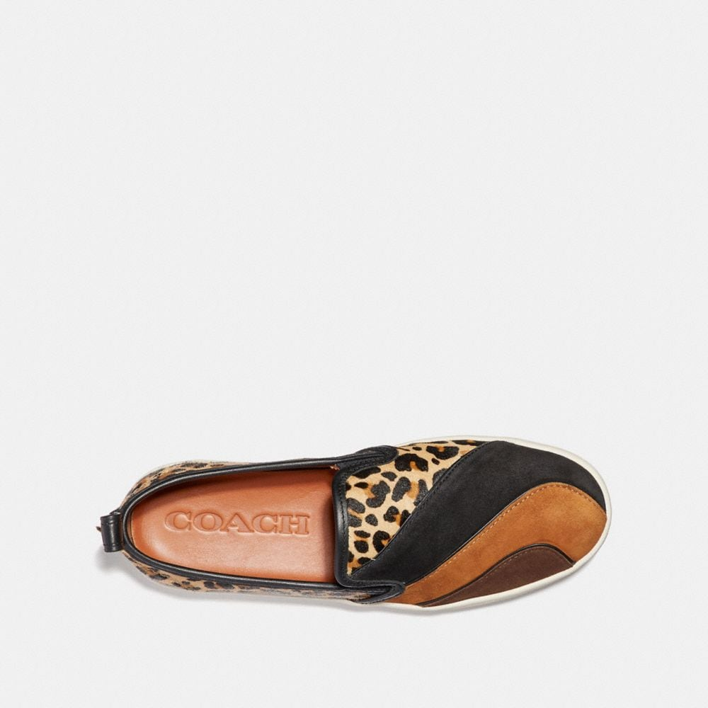Coach C115 With Leopard Patchwork Alternate View 2