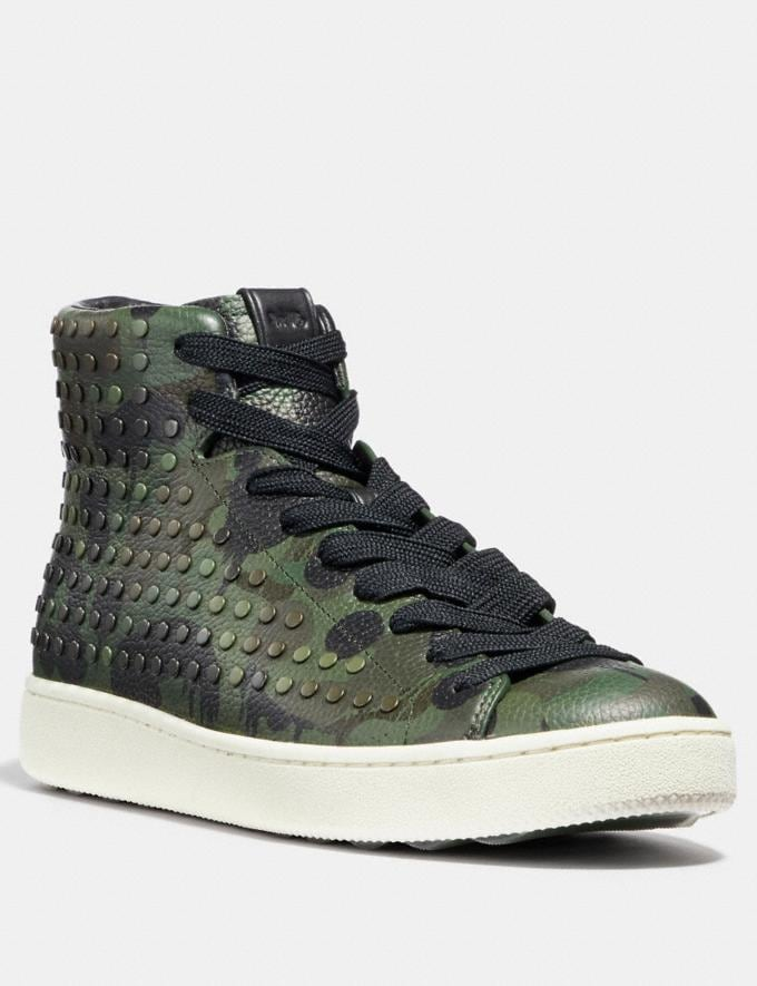 Coach C211 With Wild Beast Print and Studs Military Wild Beast SALE Men's Sale