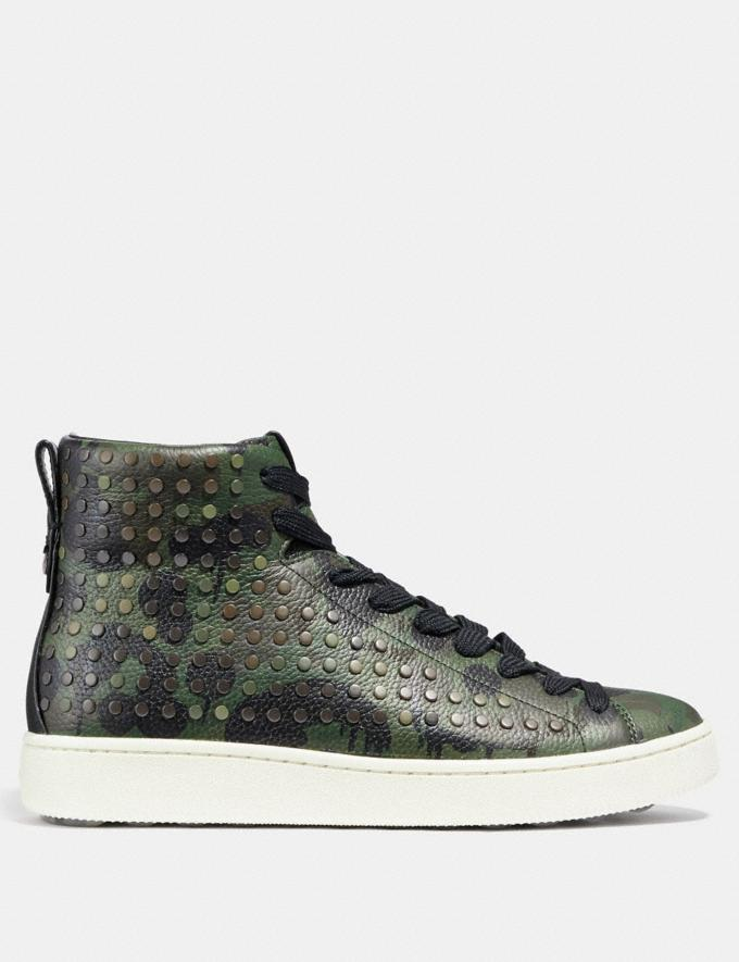 Coach C211 With Wild Beast Print and Studs Military Wild Beast SALE Men's Sale Alternate View 1