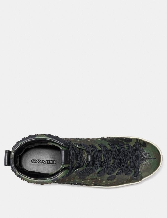 Coach C211 With Wild Beast Print and Studs Military Wild Beast SALE Men's Sale Alternate View 2