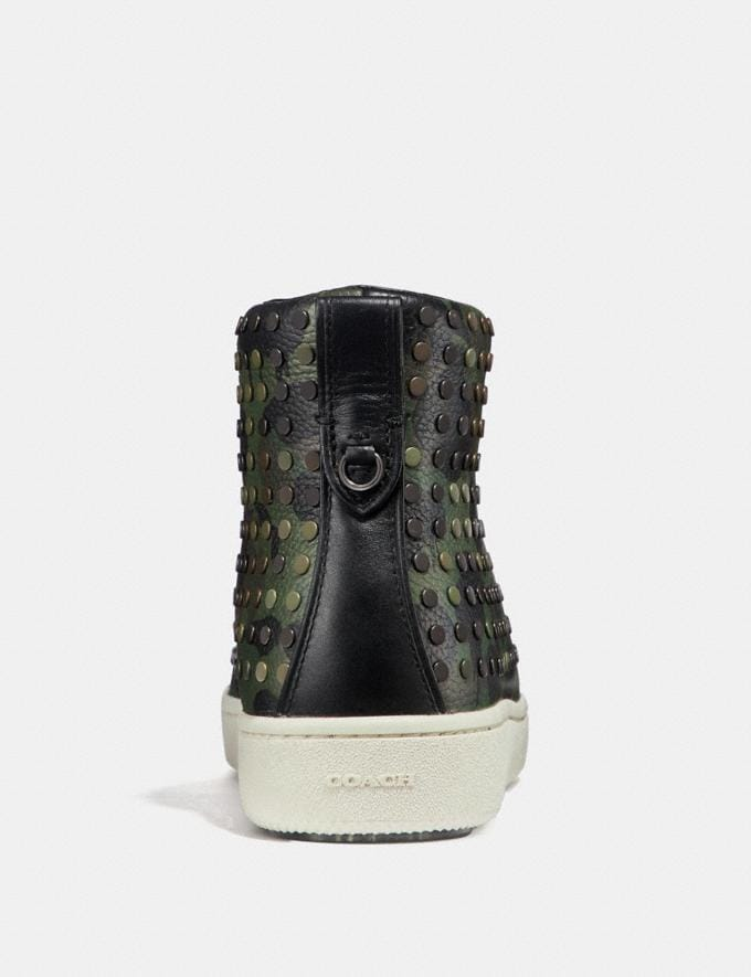 Coach C211 With Wild Beast Print and Studs Military Wild Beast SALE Men's Sale Alternate View 3