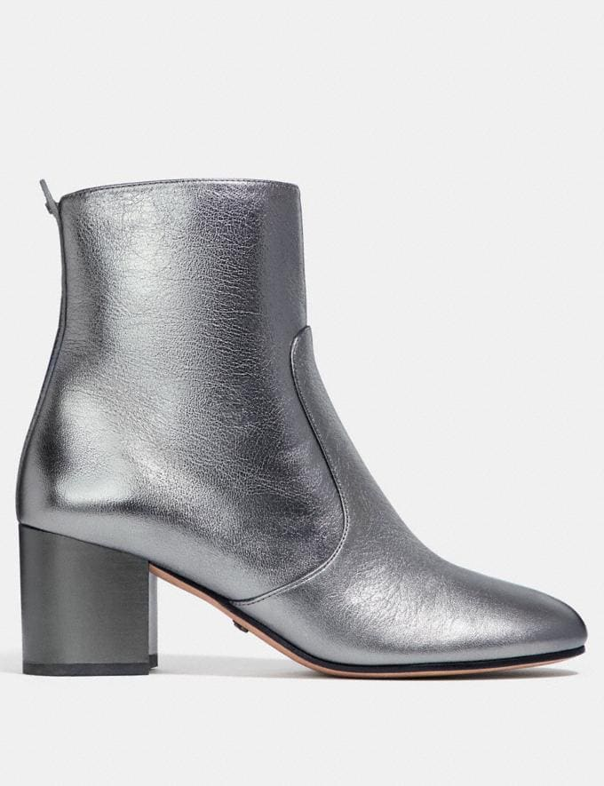 Coach Juliet Ankle Bootie Gunmetal  Alternate View 1