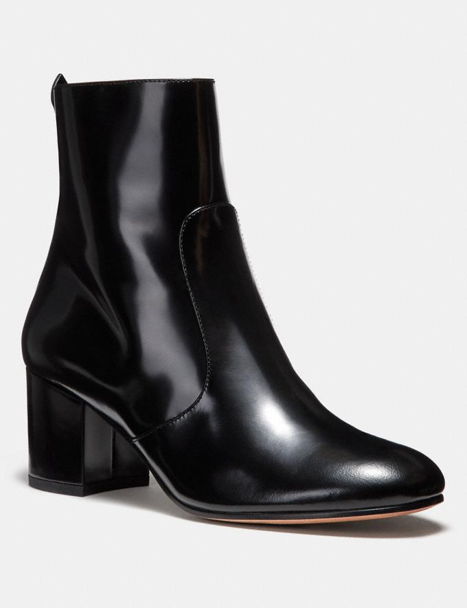 Coach Juliet Ankle Bootie Black