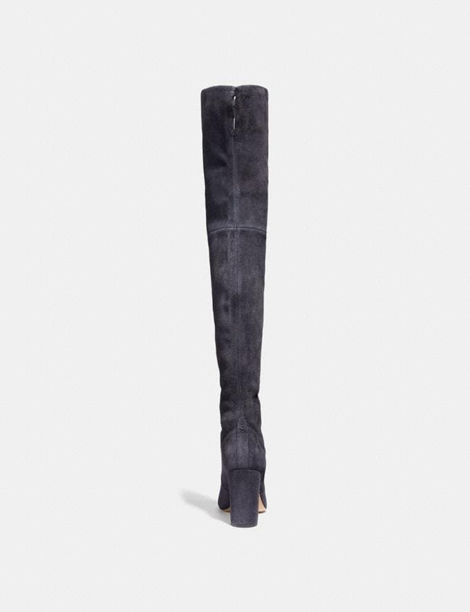 d9246503271 Coach Giselle Over the Knee Boot Midnight Navy Women Shoes Boots Alternate  View 2