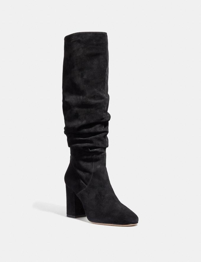 Coach Graham Slouchy Boot Cognac SALE Women's Sale Shoes