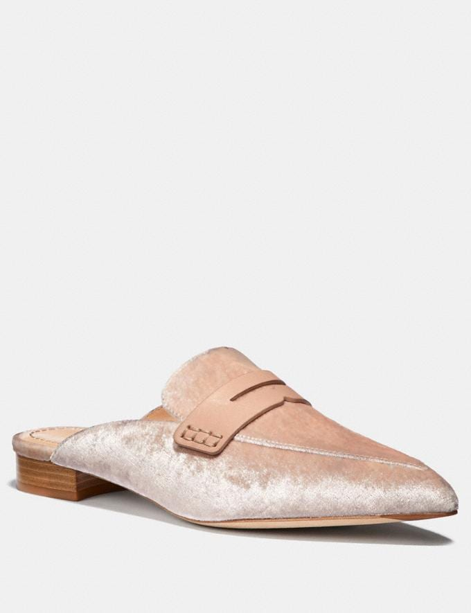 Coach Nova Loafer Slide Nude