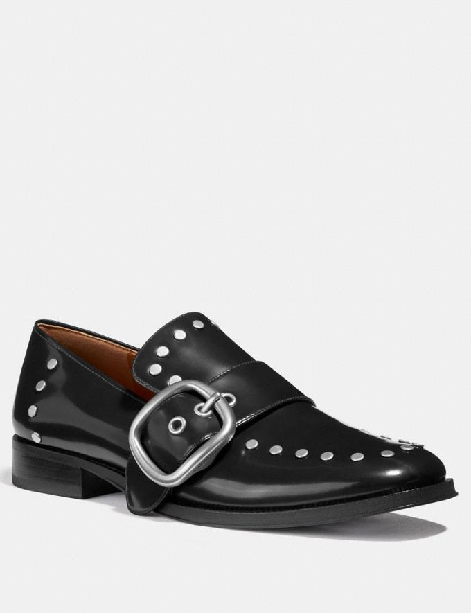 Coach Alexa Loafer With Studs Black SALE Women's Sale Shoes