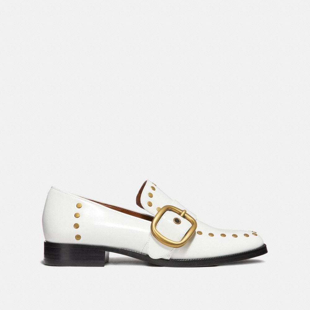 Coach Alexa Loafer With Studs Alternate View 1