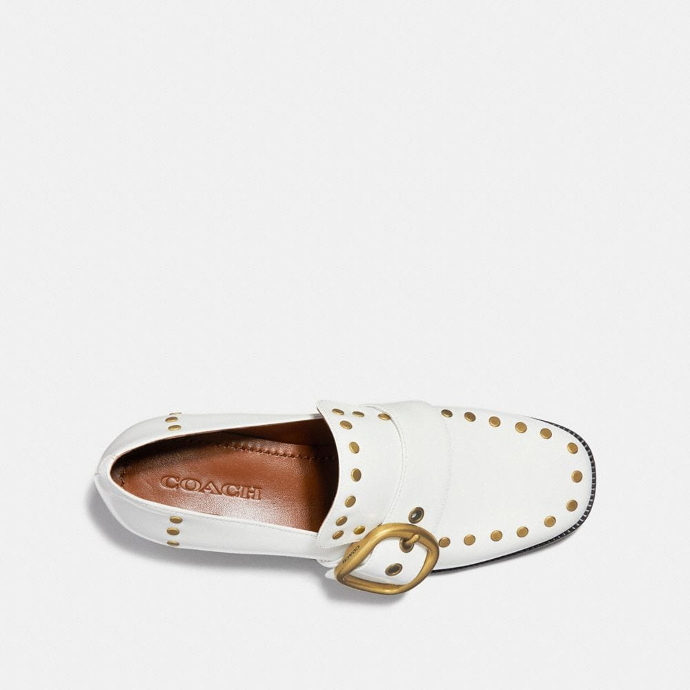 Coach Alexa Loafer With Studs Alternate View 2