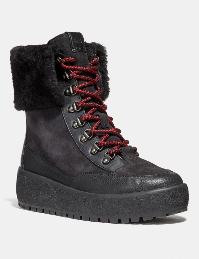 Coach Tyler Boot Black/Black Women Shoes Boots & Booties
