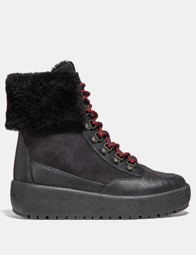 Coach Tyler Boot Black/Black Women Shoes Boots & Booties Alternate View 1