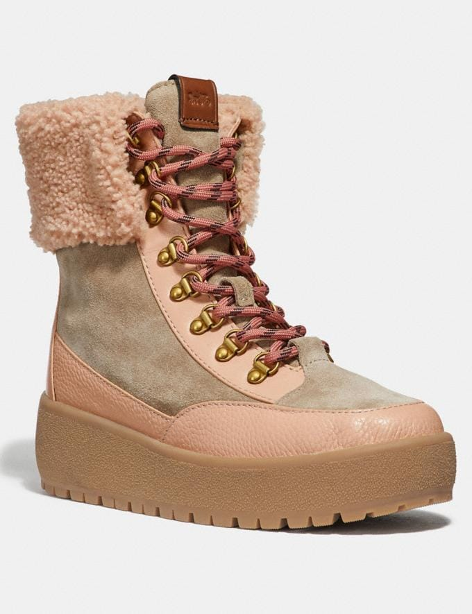 Coach Tyler Boot Oat/Pale Blush SALE Women's Sale Shoes
