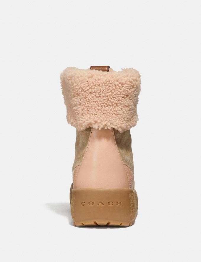 Coach Tyler Boot Oat/Pale Blush Women Shoes Boots & Booties Alternate View 2