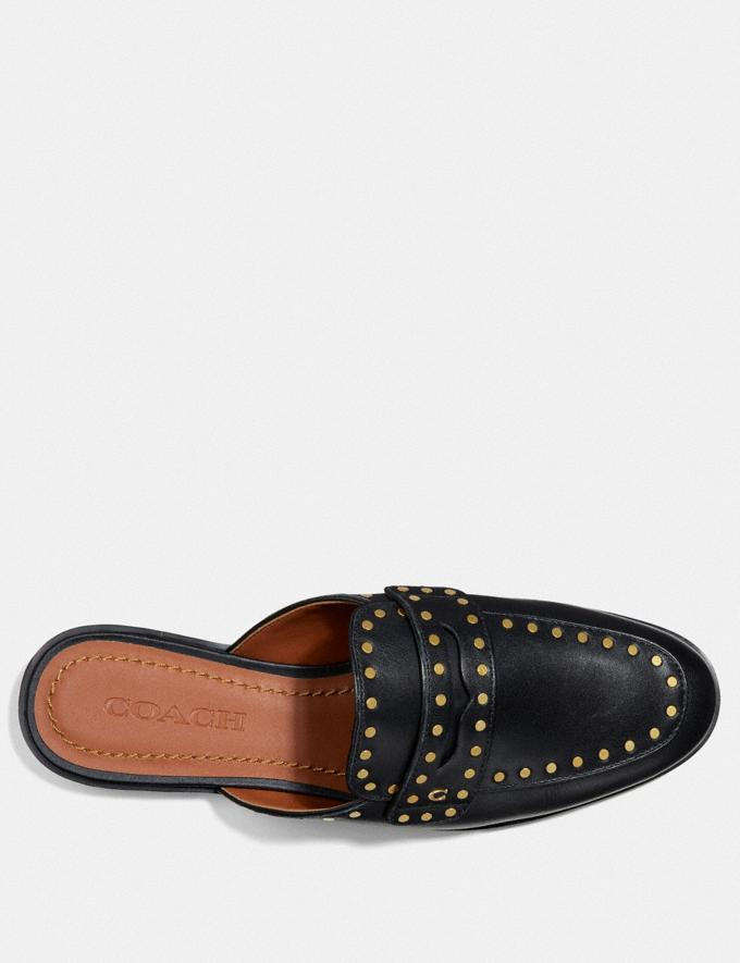 Coach Faye Loafer Slide Black  Alternate View 2