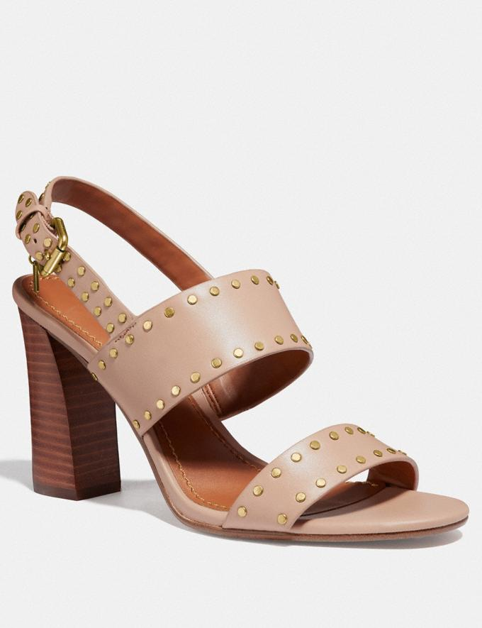 Coach Rylie Sandal Pale Blush