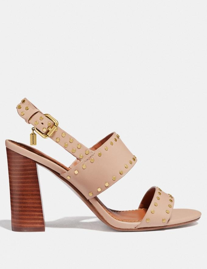 Coach Rylie Sandal Pale Blush  Alternate View 1