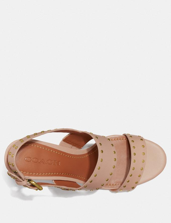 Coach Rylie Sandal Pale Blush SALE Women's Sale Shoes Alternate View 2